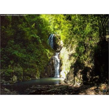 Ingresso para a trilha das cinco cachoeiras do Rincão do Canto - Itaara RS (07/09).
